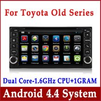 Android 4.4 Auto DVD GPS Navigation für Toyota RAV4 Hilux Corolla Vios Prado Camry mit Radio BT USB SD MP3 DVR 3G WiFi Auto Stereo Audio Video