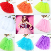 Wholesale White Adult Tutu Wholesale - Free Shipping 1 Pc 11 Colors 3 Layer TUTU BALLET SKIRTS BIG GIRLS TEENS ADULTS Waist