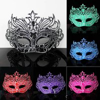 Wholesale Gold Masquerade Masks For Women - Oumutu hot blast fun PVC material masks Valentine's day birthday show Masquerade Mask sexy fashion Party