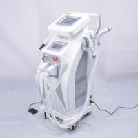 yag laser schönheit maschine großhandel-5 in 1 Multifunktions Starke Energie OPT SHR IPL Laser Haarentfernung ND YAG Laser Tattoo Entfernung Schönheit Maschine IPLRF ND YAGElight