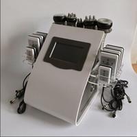 Wholesale Laser Anti Cellulite - vacuum ultrasonic cavi lipo machine radio frequency anti cellulite machine laser lipolysis slimming system