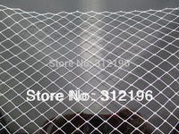 Wholesale Wholesale Russian Veiling Net - Free Shipping! 20 yards lot 10'' Russian Veil,Veiling Millinery,Netting Fabric For DIY Birdcage Veils Wedding Fascinators,WS001