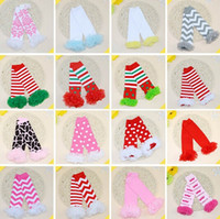 Wholesale Infant Arms - PrettyBaby Infant Baby Toddler Little Girl Boy baby christmas leg warmers ruffle lace leg warmers Socks halloween arm warmers in stock