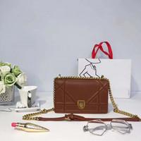 Wholesale Brown Suede Purse - 2017 hot Famous Classical designer handbags high quality women shoulder handbag purse bolsas feminina clutch brand tote bags 21CM