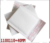 Wholesale Dvd Envelopes - Wholesale-kraft padded shipping envelopes mailers bags CD DVD pouches 11*11+4cm 100pcs lot