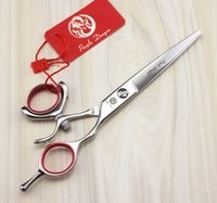 Wholesale Scissors Swivel - Hair cutting scissors Silvery 360 Thumb swivel scissors 6 INCH Barber scissors Simple packing 1pcs lot NEW
