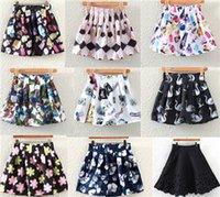 Wholesale Double Layer Chiffon Skirt - 2015 summer brand high waist pleated tutu skirt double layer organza puff chiffon skirts women ball mini tulle skirt