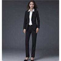 Wholesale Interview Clothes - In the autumn and winter women's suit cultivate one's morality long suit jacket female business interview suit work clothes