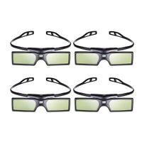 Wholesale Vivitek Projector Dlp - Freeshipping 4pcs lot G15 DLP Link 3D Glasses Active Shutter for Optoma Sharp LG Acer BenQ Acer Dell Vivitek DLP-LINK DLP Link Projectors