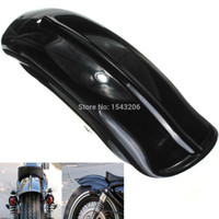 For Harley Sportster sportster rear fender black - New Black Rear Fender Mudguard For Harley Sportster Bobber Chopper Cafe Racer small order no tracking