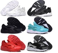 Wholesale Wide Breasted Woman - 2017 New Air Huarache Ultra Running Shoes Men And Women Athletic Huaraches Sneakers Breast Cancer Huraches Sports Trainers Shoes Size 36-45