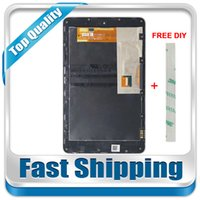 Wholesale Nexus Replacement Display - Wholesale- For New Asus Google Nexus 7 Nexus7 2012 ME370 ME370T Wifi Replacement LCD Display Touch Screen with Frame Assembly Free Shipping