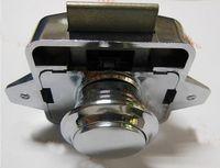 rv dolapları toptan satış-Toptan-Krom Kaplama rv caravan karavan dolap kilidi CP214 için Push button kabine mandalı
