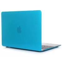 macbook 12 großhandel-Klar kristall kunststoff fall vorderseite + rückseitige abdeckung für macbook air pro retina 12 13.3 15.4 transparent schutzhülle kleinkasten