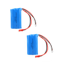 Wholesale Horses Track - 2Pcs 7.4V 1500mAh Rechargeable Li Battery for Double Horse 9118 MJX T23 F45 RC Helicopter Toys order<$18no track