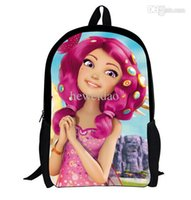 Wholesale Princess Sofia Backpack - one piece MIA and ME cartoon school backpack for children,princess sofia the first schoolbag backpack for teenage girls kids