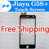 Wholesale Jiayu Inches - Wholesale- Jiayu G5S+ Touch Screen 100% New Digitizer Glass Panel Assembly Replacemen For jiayu G5S+ 5.0 inch Smartphone Free Ship - Black