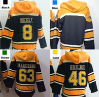 Wholesale ch jerseys for sale - Group buy 2016 Mens Boston Hoodie Cam Neely David Krejci Brad Marchand blank Old Time Ice Hockey Jersey Hoodies Sweatshirt S XL ch