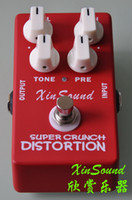 Wholesale guitar sound pedals resale online - Distortion Guitar Effect Pedal DS P Crunch Box Distortion True Bypass by Xin Sound