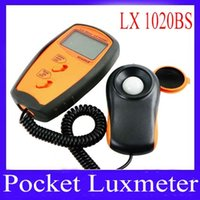Wholesale portble Digital lux meter bs Lux free shippuing