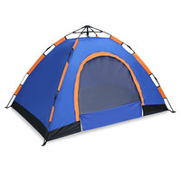 Wholesale pop up tents - Pop Up Open Large Automatic Instant Setup 2-3 Person Tent Easy Foldable Shelter with anti-UV Water resistant and Coating Camping