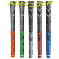 Wholesale Iron Grips - New golf grips grey colors rubbers for golf irons driver standard midsize golf clubs grips DHL ship