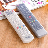 Wholesale Tv Remote Protective Cover - Wholesale-Storage Bags TV Remote Control Dust Cover Protective Holder Organizer Home Item