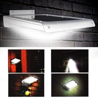Wholesale led LED Solar Power Motion Sensor Garden Security Lamp Outdoor Waterproof Ultra thin Porch Lights For Home Garden Outdoor led lights
