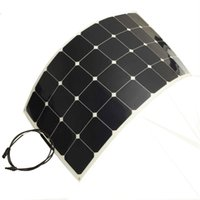Wholesale Power Side Panels - 100W flexible solar panels for solar powered fishing boats, with back side connection, suit for 12V battery solar charger.