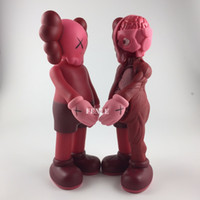 Wholesale Finished Wood Products - 2017 New 37cm Originalfake KAWS Dissected Companion Open Edition Art Fashion Toy Original Fake With Red Reta With Original Box