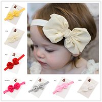 Cheap Hair Ribbons Ribbon Bowknot Headband Best Lace Solid Girls headband