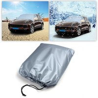Wholesale sun heat - Car Cover Vehicle Front Window Sunshade Ice Protector Waterproof Heat Sun Snow Dust Rain Resistant Protection