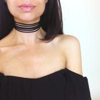 ingrosso collare in pizzo di corea-La decorazione in flanella multistrato con colletto in pizzo collana Corea