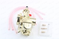 Wholesale Bike Motor Stroke - Motor Cycle Bike 28mm Carburettor 150cc 160cc 200cc Golden color Carb fit OKO PWK