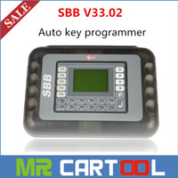 Wholesale Lexus Key Maker - DHL Free 2015 Hot Sale Universal Silca SBB Key Programmer V33.02   V33 For Multi-Cars SBB Auto Key Maker By Immobilizer No Token