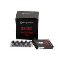 bobinas ssocc vs occ al por mayor-Kanger SSOCC Coils Cabeza de bobina OCC de acero inoxidable de repuesto de alta calidad frente a OCC vertical para Kangertech Subox Subbox Subbox