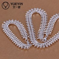 Wholesale Ruby Bridal - Christmas gift 925 Sterling Silver necklace bracelet set S042 2015 bulk sale cheap bridal party jewelry sets