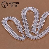 Wholesale Cheap Onyx - Christmas gift 925 Sterling Silver necklace bracelet set S042 2015 bulk sale cheap bridal party jewelry sets