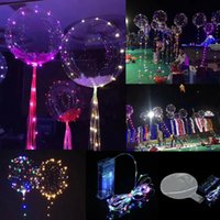 Regalo de Navidad Luminoso Led Transparente 3 Metros Globo Intermitente Decoraciones Del Banquete de Boda Suministros de Fiestas Globos de Color Brillante LED