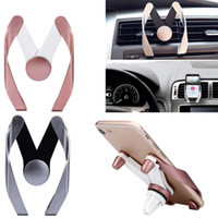Wholesale Iphone Auto Mount - Car Holder Auto Air Vent Cell Phone Rock Mount Adjustable For iPhone Samsung GPS
