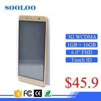 Wholesale Mp3 Player Free Shipping China - Hot Sale Free Shipping Fingerprint 8MP HD Camera China 6 Inch Screen Unlocked Android Phone Smartphone