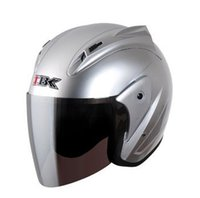 "Wholesale Helmet Ibk - Wholesale-Free Shipping "" IBK-515-J "" 3 4 Style ABS OFF Road Electric Casque Open Face Casco Motorcycle Bright Pink Helmet &"