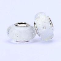 Wholesale beautiful glass beads - 10pcs lot murano glass beads loose beads thread bead beautiful beads jewelry wholesale T10