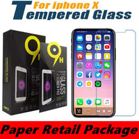 Wholesale Huawei Ascend Plus Phone - Tempered glass for Iphone 7 LG Aristo V3 Samsung S7 Anti-fingerprint screen protector clear film for MOTO G5 Plus E4 Plus Cell Phones Film