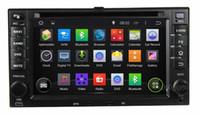 "Wholesale Dvd For Kia Optima - Universal 4-Core HD 6.2"" Android 4.4 Car DVD Player for Kia Cerato Sportage CEED Sorento Spectra Optima Rondo Rio Sedona Carens"