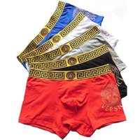 Wholesale New Design Shorts - Wholesale high quality underwear shorts for men new fashion luxury brand design underwear for men sexy boxer short free shipping