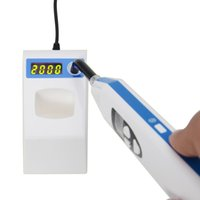 Wholesale Light Cure Price - New Arrival 2 in 1 Wireless LED Dental Curing Light Lamp and Caries detection for dentist use 2000MW lowest price