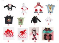 Wholesale Elf Accessories - 12pcs Elf Doll clothes Christmas Elf Plush toys Accessory On The Shelf Elves Xmas dolls clothes For Kids Holiday And Christmas Gift