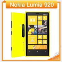 Wholesale Unlock Windows Mobile - Original Lumia 920 Unlocked 3G 4G Nokia 920 Windows Mobile Phone ROM 32GB 8.7MP GPS WIFI Bluetooth refurbished cell phone