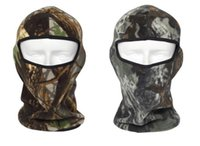 Wholesale Camouflage Hunting Hat - Winter Warm Cap Camouflage Windproof Sports Caps Motocycle Cycling Hunting Ski Face Masks Bionics Hat Women Men Boy Girl Beanie Balaclava